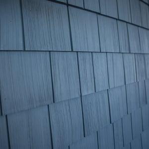 Siding Restoration Tando RoughSawn-Cedar-Single-Demin-Blue