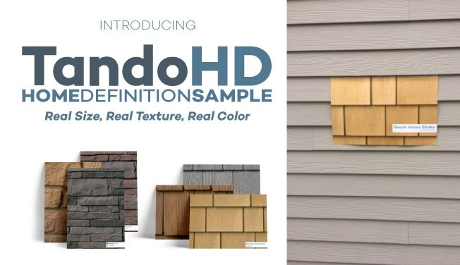 Tando Building Products Premium Exterior Siding Panels