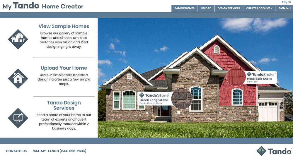 Tando home creator screenshot