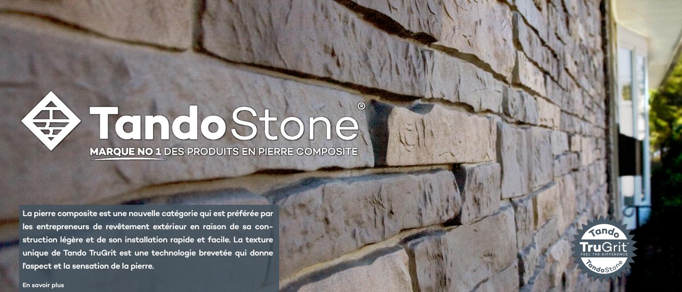 Revetement Mur Exterieur Pierre tando building products | fabricant de parement extérieur